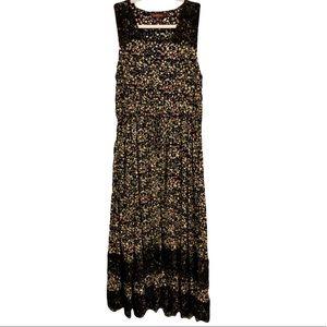 NWOT Anthropologie Ranna Gill's Cynara Midi Dress